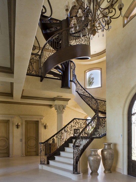 Custom Spiral Staircase (Las Vegas)